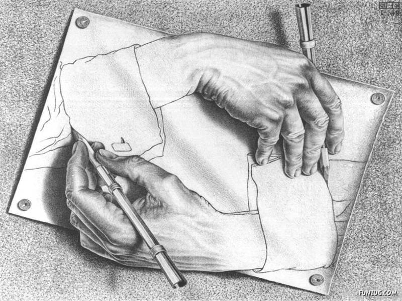 Realistic sketches evr funzug org02 all about fun for Amazing hand drawings