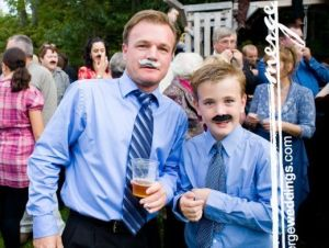 mustache wedding party funzug org 02