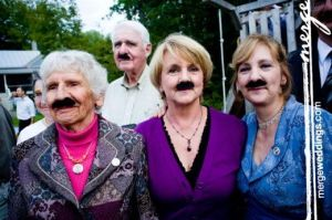mustache wedding party funzug org 05