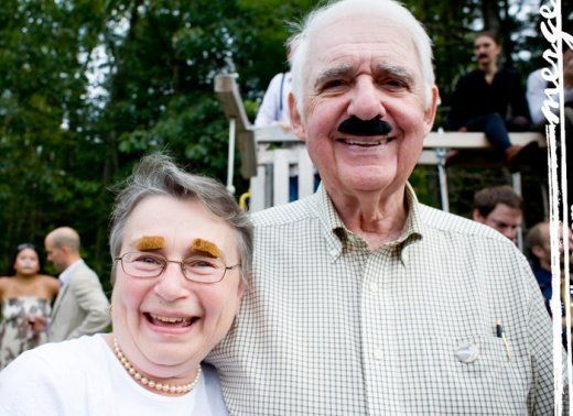 Ever Attended A Mustache Wedding Party wedding party